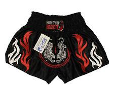Nwt - Muay Thai Addict Unisex Custom Design Black Martial Arts Shorts - M