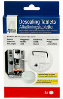 Coffee Machine Descaling Tablets Bosch, Siemens Delonghi Gaggenau AEG - 6 Pack