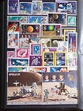 COLLECTION OF THEMED STAMPS: SPACE