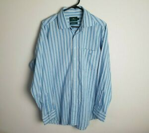 Rodd & Gunn Mens Long Sleeve Button Up Shirt Size S Striped