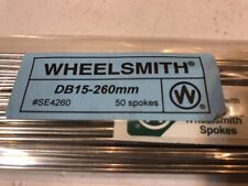 Pack Of 50 Wheelsmith DB-15-260mm Spokes NEW