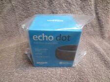 AMAZON ECHO DOT (3RD GEN) SMART SPEAKER - CHARCOAL (BRAND NEW IN SEALED BOX)