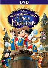Mickey, Donald, Goofy The Three Musketeers DVD