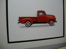 1951 GMC Truck FC 101  artist Auto Museum Full color Illustrated not photo