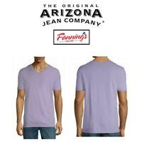 NEW! Arizona Jean Co. V-Neck Tee Shirt Short Sleeve Men's  VARIETY SIZE  C12