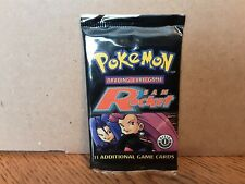 Pokemon 1st Edition (TEAM ROCKET) Booster Pack FACTORY SEALED & UNWEIGHED