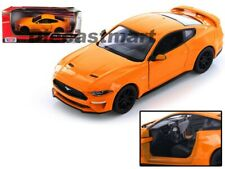 Ford Mustang GT 2018 mate negro coche modelo 1 24 Motormax