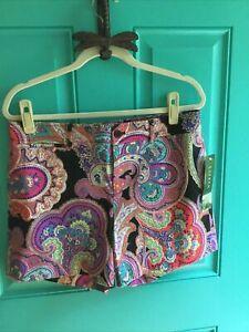 LAUREN Ralph Lauren Colorful Paisley Shorts Preppy n Classic Size 10