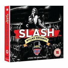 Slash - Living the Dream Tour - New 2CD/DVD Album - Pre Order - 20th September