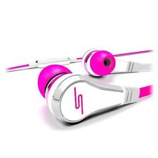 SMS Audio 50 Cent STREET In-Ear Headphones + Mic iPod iPad iPhone ELECTRIC PINK