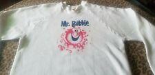 MR. BUBBLE RARE UNUSED DEADSTOCK SWEATSHIRT 80S CLEAN FUN VINTAGE TV SOAP