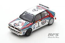 Lancia Delta HF Integrale Rallye Monte Carlo 1992 Kankkunen 1:43 Spark 9014 NEU