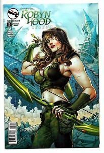 ROBYN HOOD LEGEND #5 Zenescope COVER A Sexy GGA 2014 Grimm Fairy Tales