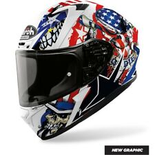 CASCO AIROH INTEGRALE VALOR UNCLE SAM OPACO 2020 TAGLIA M
