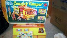 Vintage Mattel Barbie Country Camper w/some Accessories, Damage Original Box