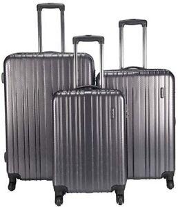 Samsonite Tech 3-Pieces Luggage Set, charcoal