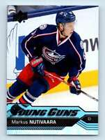 2016-17 Upper Deck Young Guns Markus Nutivaara RC #457