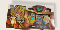 Pokemon TCG Shining Legends Raichu-GX Special Collection Box 5 Booster Pack AUTH