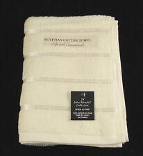 Cream Egyptian Cotton Bath Towel Set 2 Bath Towels 500gsm