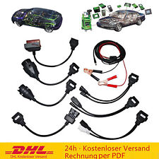 8er Diagnose Adapter Kabel Stecker OBD 2 II Diagnosegerät LKW KFZ Interface Set
