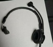 Telex Ph-88R Single Sided Intercom Headset - Black 5 pin male