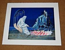 Rare SIGNED TITO SALOMONI Fantasy Lithograph Surrealism 70/200 Print