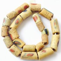 Fine Ghana Antique Bodom African Akoso Powder Glass African trade beads