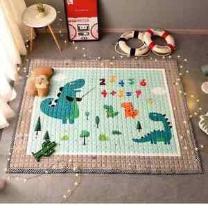 Baby Floor Mats Educational Floor Mats For Kids Cotton Square Floor Mats
