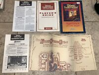 Vintage 1992 Ultima Underworld Stygian Abyss Origin PC Game Map Clue Book Rare