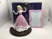 "Rare Royal Doulton ""A Dress of Dreams"" Cinderella Disney Showcase Figurine MINT"