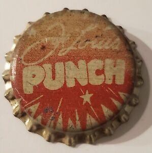 Joe Louis Punch Cork Bottle Cap; 1940's; Unused