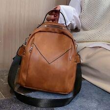 Small Backpack For Teenager Girls Vintage Shoulder Bags Fashion Pu Leather Bag