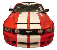 "Ford Mustang ""GT 500 KR Style"" Functional Ram Air Hood Fits 2005-2009"