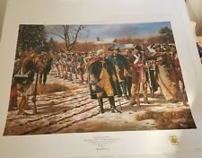 New ListingForging An Army - Washington At Valley Forge art print Limited Edition