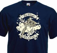 T-shirts bleus Fruit of the Loom pour homme