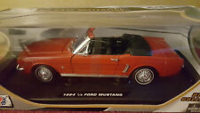 MotorMax Die Cast Collection Red 1964 1/2 Ford Mustang 1:18 Scale Replica