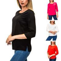 Only Damen Langarmshirt Blusenshirt Shirt Bluse Basic Business SALE
