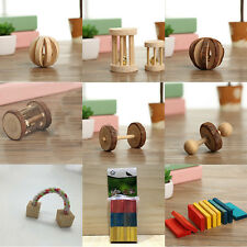 Cute Small Animal Rabbit Rat Chinchilla Guinea Pig Hamster Wooden Toy Chew Toy