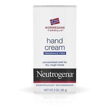 New Neutrogena Norwegian Formula Hand Cream Fragrance Free 2 Oz