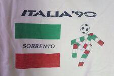 Vintage ITALIA '90 World Cup Sweatshirt Sorrento (see measurements)