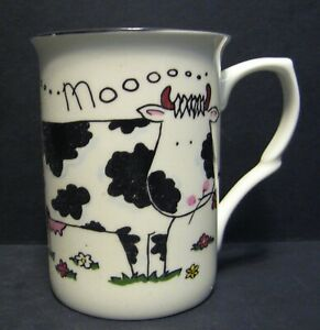 Moo Cow Fine Bone China Mug Cup Beaker (also comes in sheep & Cow)