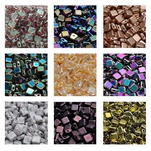 Rutkovsky 111-30517 Flat Silky Pressed Beads Czech Glass 6mm Size 15g Pack