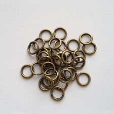 New! 200 pcs Bronze Open Jump Rings 8mm Jewelry Item #39 Findings Ring Tool