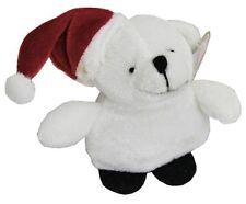 Christmas Plush Soft Toy Bear 9Cm ~ Xmas Plush Polar Bear