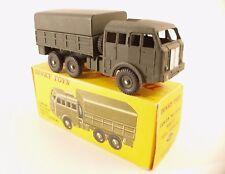 Dinky Toys F n° 818  BERLIET camion militaire tous terrains army truck en boite
