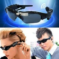 Sales!Sunglasses Bluetooth Stereo Music Headphone for Phone/Tablet PC/Laptop aa