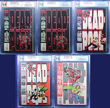 DEADPOOL: CIRCLE CHASE (1993 Marvel) + BONUS all PGX (not CGC) 9.8 NM/MT BOOM!!!