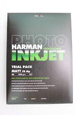 ILFORD HARMAN MATT FIBRE BASE A4 INK JET PAPER 50 SHEETS