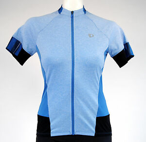 Pearl Izumi Select Escape Cycling SS Jersey,Women's, Extra Small, Heather Blue