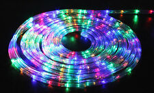 6M 240V LED Rope Light Duralight Static RGB Multiple Colour Outdoor Garden Tree